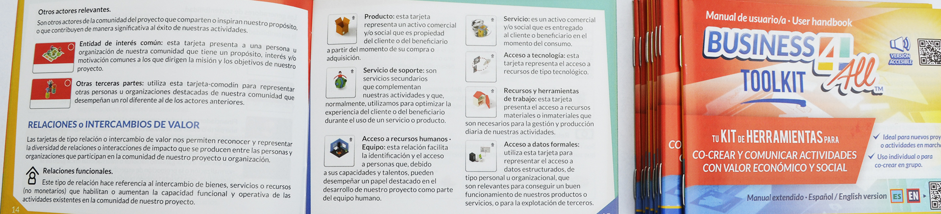 Imagen del manual de instrucciones de Business4ALL TOOLKIT